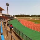 2012年3月11日西部緑地公園陸上競技場清掃活動