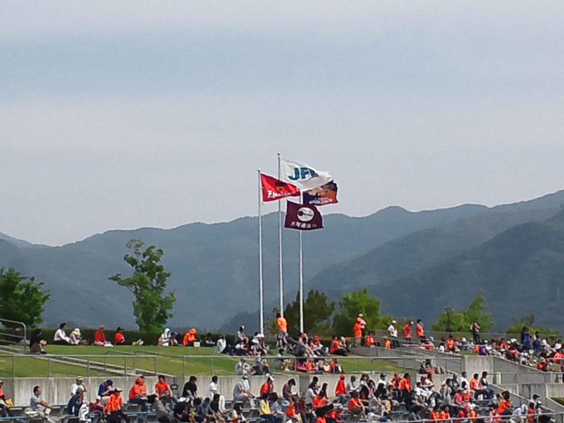 5月26日 JFL第13節 vsAC長野パルセイロ戦