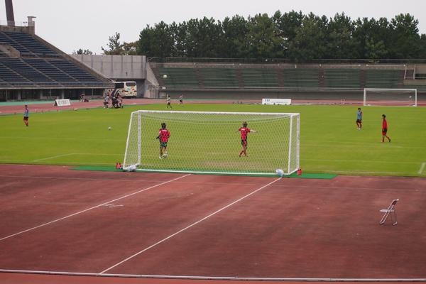 10月14日 JFL第29節 vsソニー仙台FC