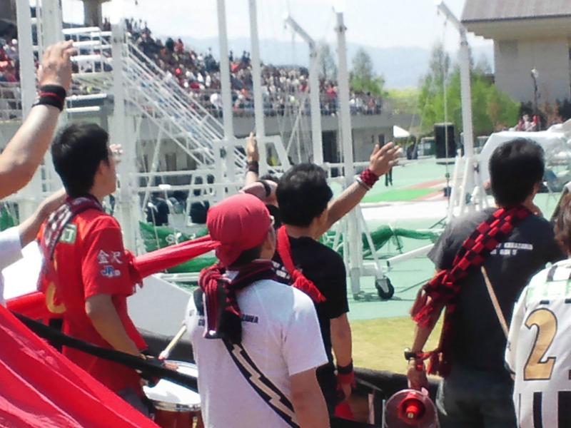 5月12日 JFL第11節 vs福島ユナイテッドFC